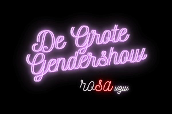 ella vzw werkt mee aan de Grote Gendershow van Rosa vzw